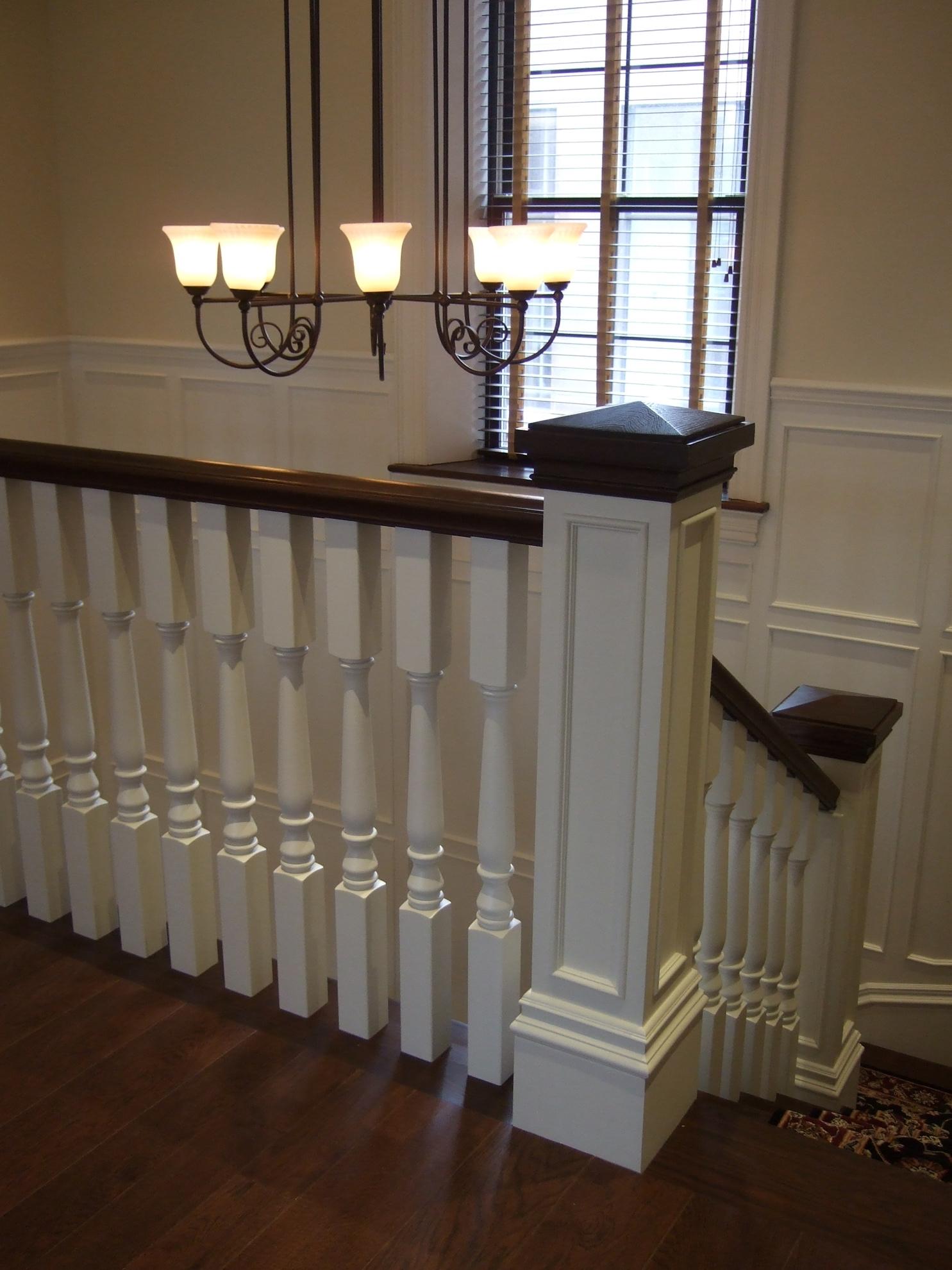 Image sur 06-Escalier barreaux de bois