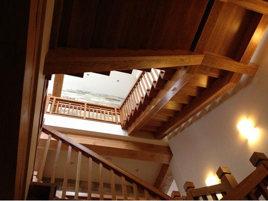 Picture of 05-Escalier barreaux de bois