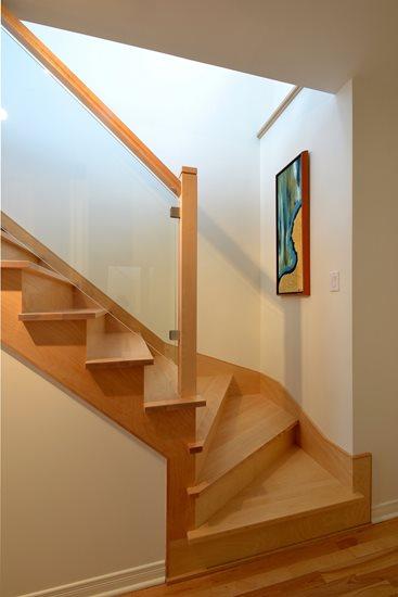 Picture of 16-Escalier panneaux de verre