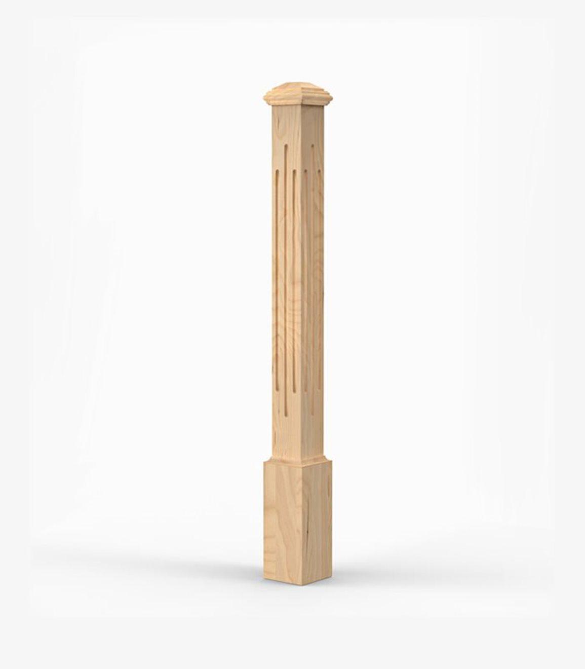 Poteau de bois 1330D