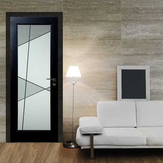 Porte vitrail Salsa