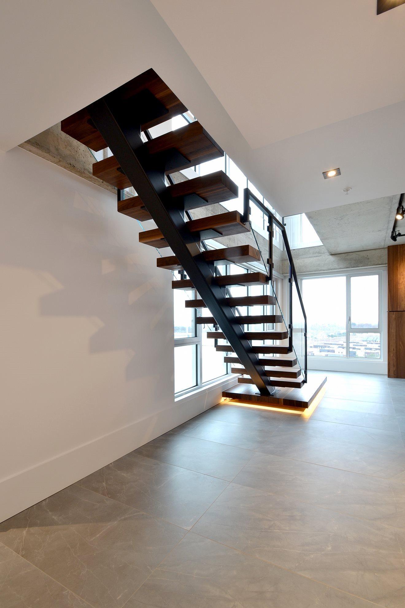 Image sur 17-Escalier panneaux de verre