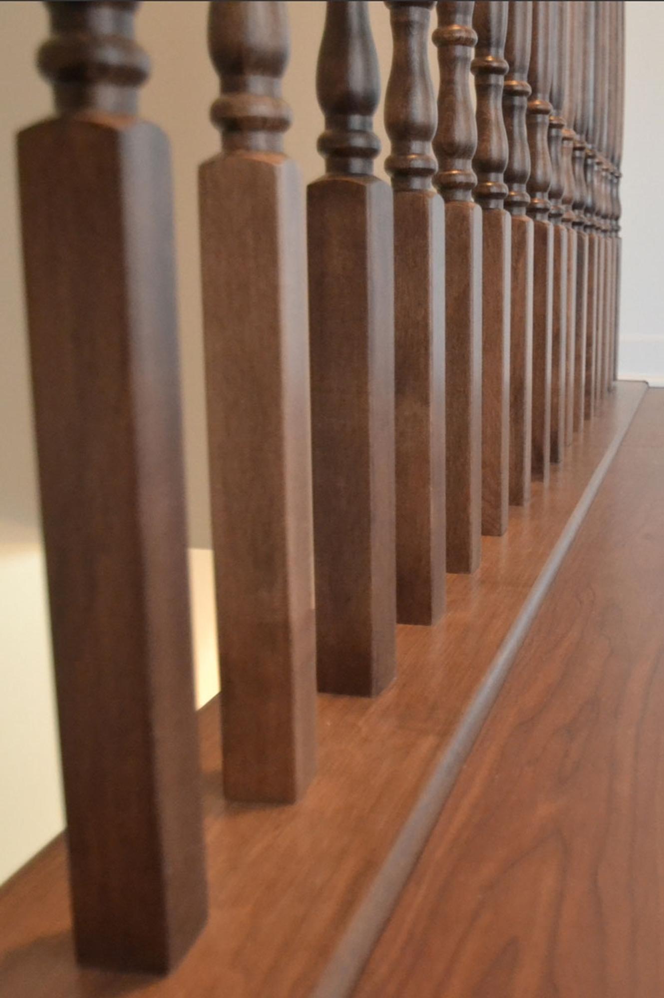 Barreaux de bois